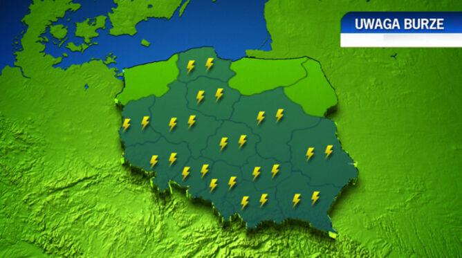 Burze przeszły nad Polską