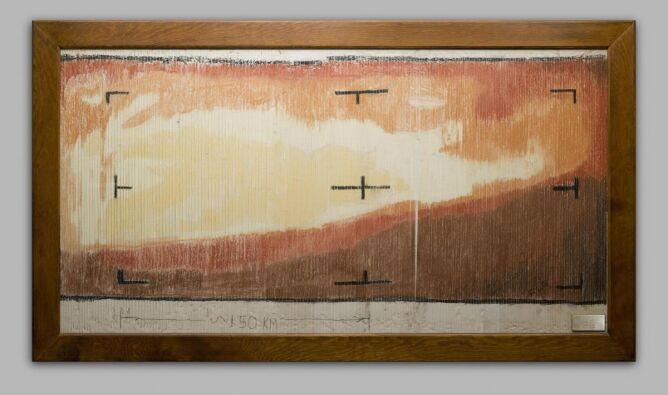 Pierwszy obraz Marsa kolorowany kredkami