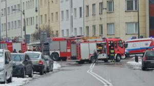 Pożar lokalu na Oboźnej. W akcji pięć wozów straży