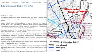 Metro do Trasy Toruńskiej? Białołęka zbiera podpisy