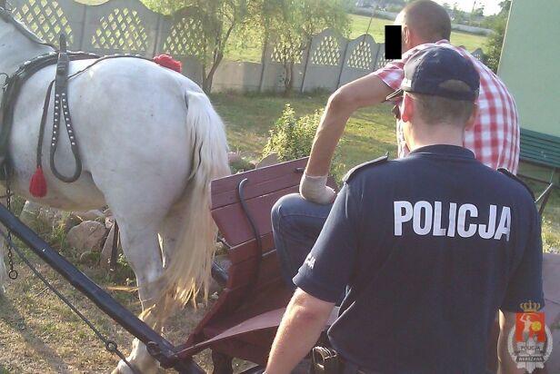Mężczyzna trafił w ręce policji ksp