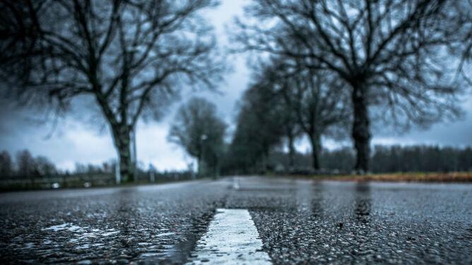 Uwaga na śliskie drogi