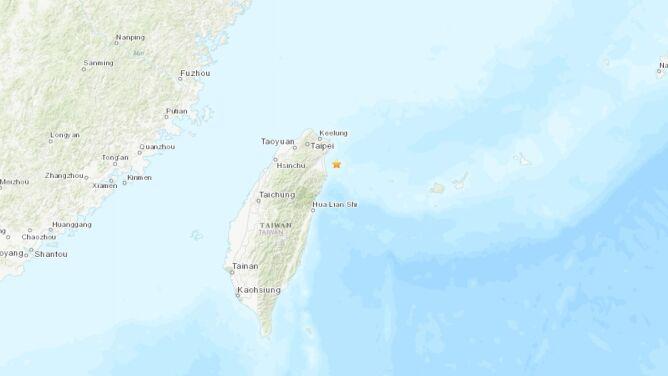 U wybrzeży Tajwanu zatrzęsła się ziemia
