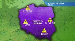 Warunki drogowe w piątek 24.09