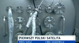 Konstruowanie pierwszego polskiego satelity, Centrum Astronomiczne w Warszawie (TVN24)